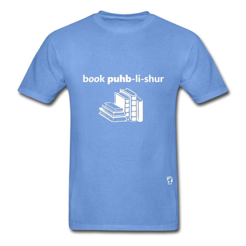 Book Publisher Tagless T-Shirt - carolina blue