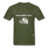 Book Publisher Tagless T-Shirt - military green