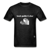 Book Publisher Tagless T-Shirt - charcoal gray