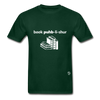Book Publisher Tagless T-Shirt - forest green