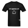 Espresso Hanes Adult Tagless T-Shirt - black