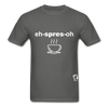 Espresso Hanes Adult Tagless T-Shirt - charcoal