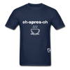 Espresso Hanes Adult Tagless T-Shirt - navy