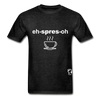 Espresso Hanes Adult Tagless T-Shirt - charcoal gray