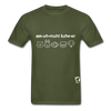 Animal Lover Hanes Adult Tagless T-Shirt - military green