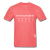 Enthusiastic Hanes Adult Tagless T-Shirt - coral