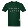 Enthusiastic Hanes Adult Tagless T-Shirt - forest green