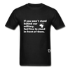 Stand Behind our Military T-Shirt - black