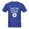 I'm Essential T-Shirt - royal blue