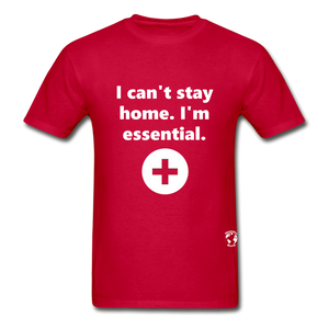 I'm Essential T-Shirt - red