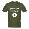 I'm Essential T-Shirt - military green