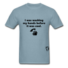 Washing my Hands Before it was Cool T-Shirt - stonewash blue