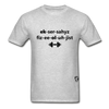 Exercise Physiologist Adult Tagless T-Shirt - heather gray