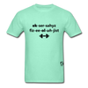 Exercise Physiologist Adult Tagless T-Shirt - deep mint