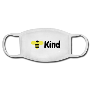 Be Kind Face Mask - white/white