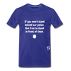 Stand Behind our Police Premium T-Shirt - royal blue