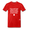 Stand Behind our Police Premium T-Shirt - red
