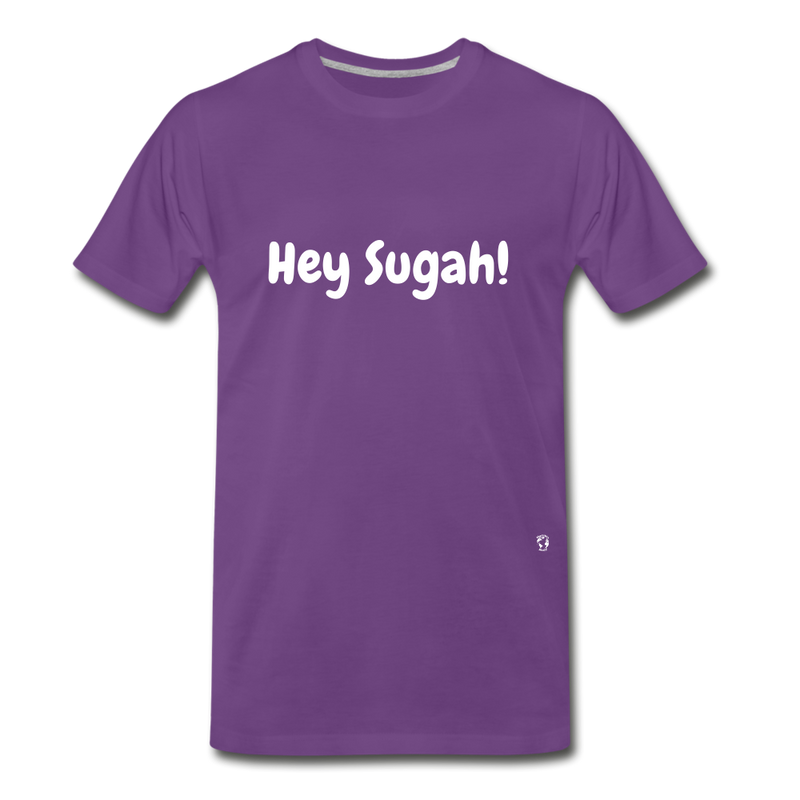 Hey Sugah! Premium T-Shirt - charcoal gray