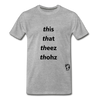 This That These Those T-Shirt - heather gray