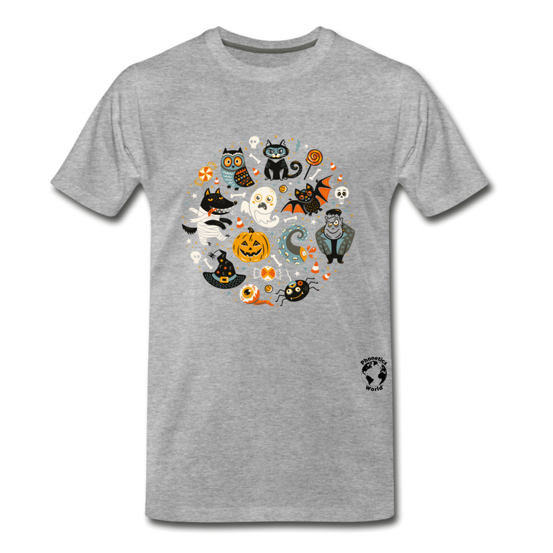 Halloween Premium T-Shirt - heather gray