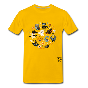 Halloween Premium T-Shirt - sun yellow