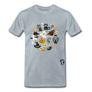 Halloween Premium T-Shirt - heather ice blue