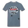 Scary Costume Premium T-Shirt - steel blue