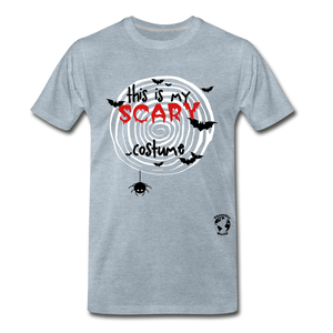 Scary Costume Premium T-Shirt - heather ice blue
