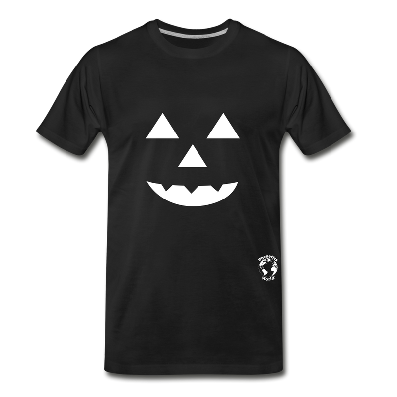 Jack-o-lantern Smile Premium T-Shirt - noble brown