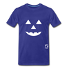 Jack-o-lantern Smile Premium T-Shirt - royal blue