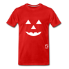 Jack-o-lantern Smile Premium T-Shirt - red