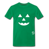 Jack-o-lantern Smile Premium T-Shirt - kelly green