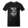 Trick or Treat Premium T-Shirt - charcoal gray