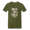 Trick or Treat Premium T-Shirt - olive green