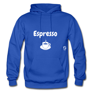 Espresso Gildan Heavy Blend Adult Hoodie - royal blue