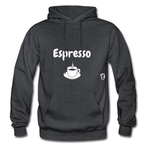 Espresso Gildan Heavy Blend Adult Hoodie - charcoal gray
