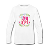 All You Need is Love Premium Long Sleeve T-Shirt - white
