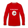 Be that Unicorn Premium Long Sleeve T-Shirt - red