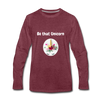 Be that Unicorn Premium Long Sleeve T-Shirt - heather burgundy