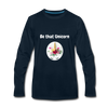 Be that Unicorn Premium Long Sleeve T-Shirt - deep navy