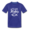 Team Jesus Kids' Premium T-Shirt - royal blue