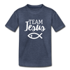 Team Jesus Kids' Premium T-Shirt - heather blue