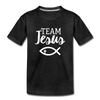 Team Jesus Kids' Premium T-Shirt - charcoal gray