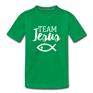 Team Jesus Kids' Premium T-Shirt - kelly green