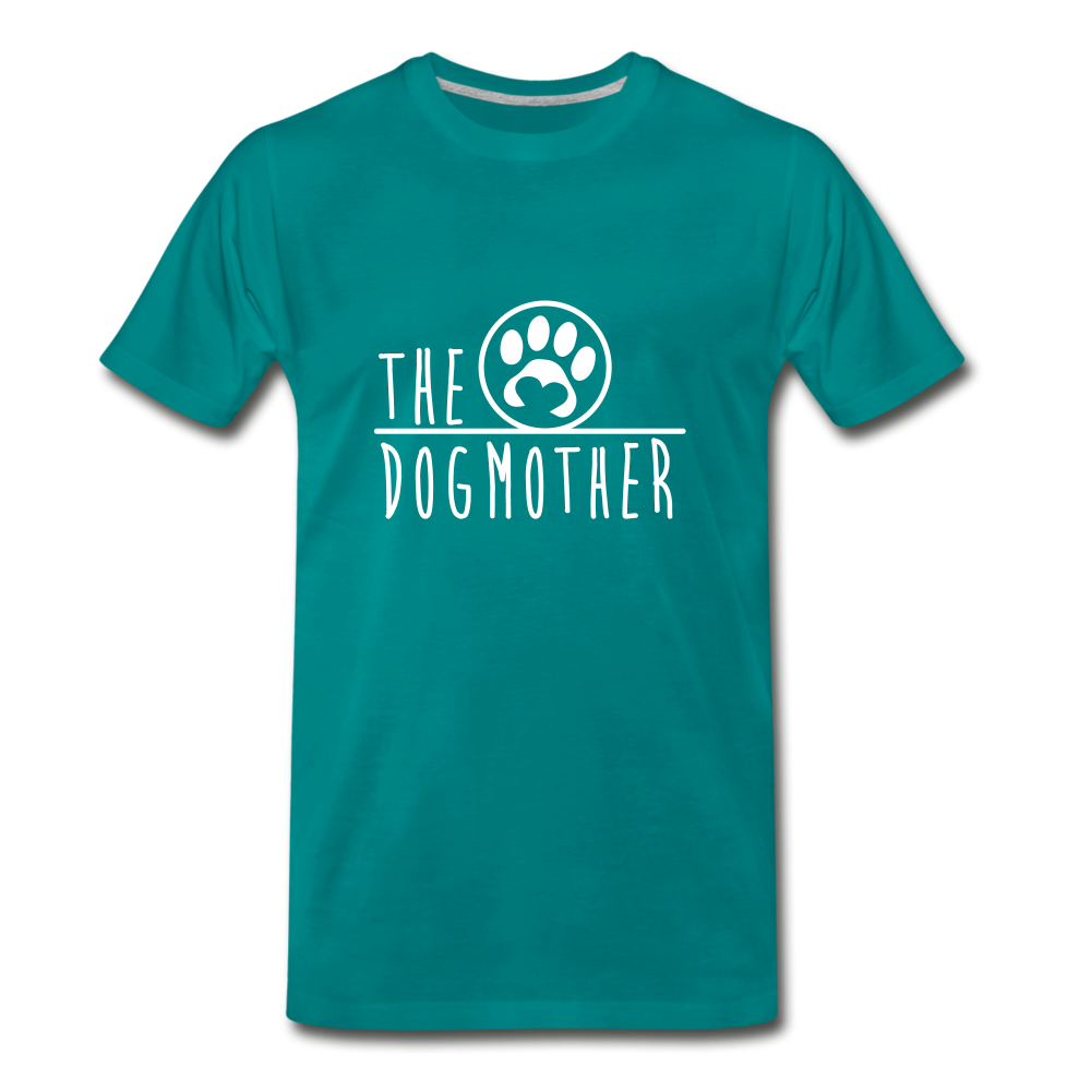 The Dog Mother Premium T-Shirt - teal