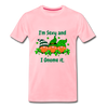 St. Patrick Gnome Red Beards Premium T-Shirt - pink