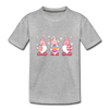 Easter Gnome Trio 2 Kids' Premium T-Shirt - heather gray