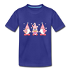 Easter Gnome Trio 2 Kids' Premium T-Shirt - royal blue