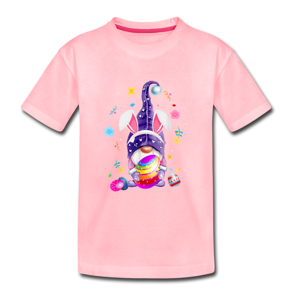 Easter Gnome Kids' Premium T-Shirt - pink