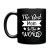 The Best Mom in the World Full Color Mug - black